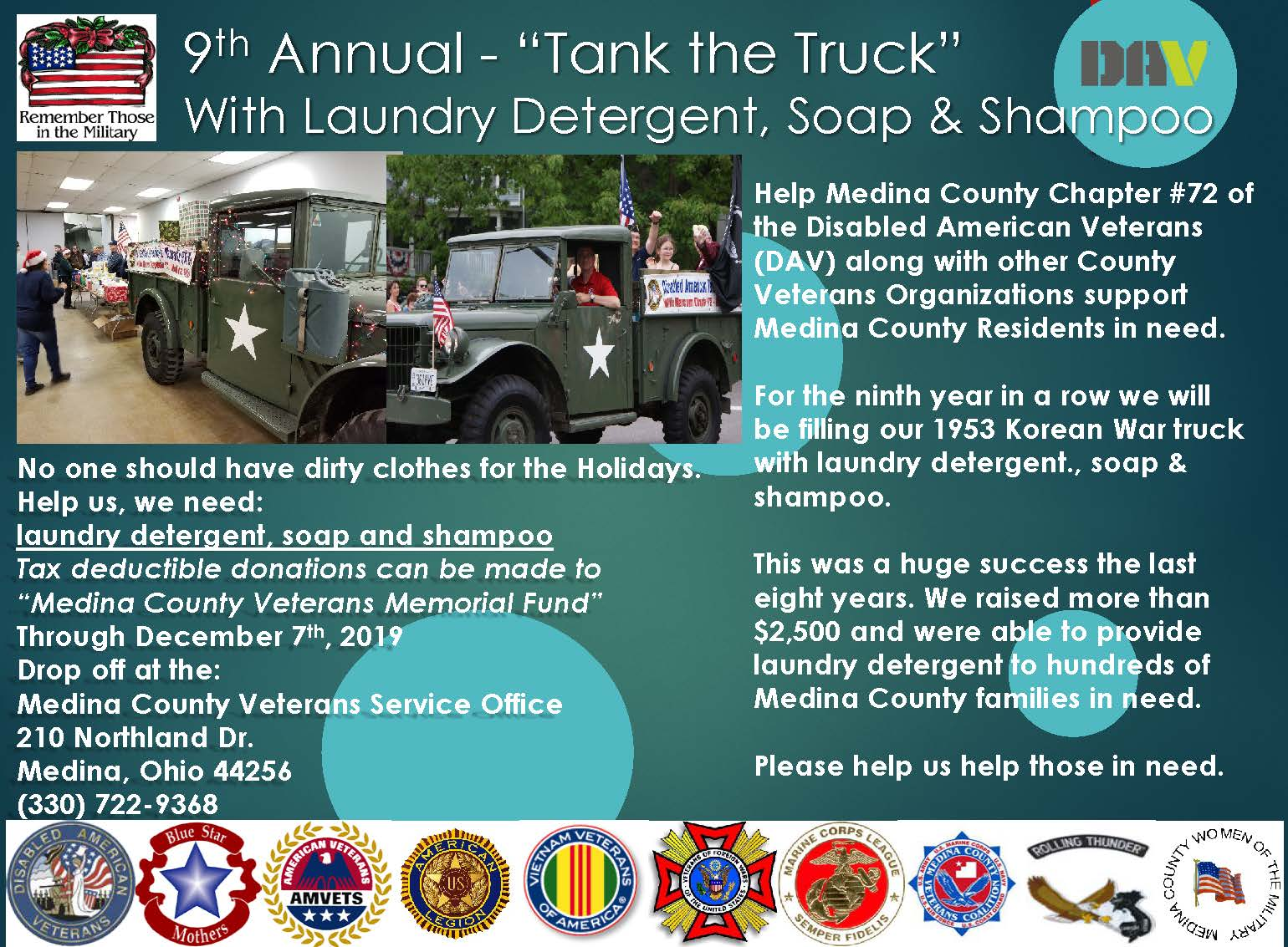 """Tank The Truck"" At The Medina Community Center With Feeding Medina County"