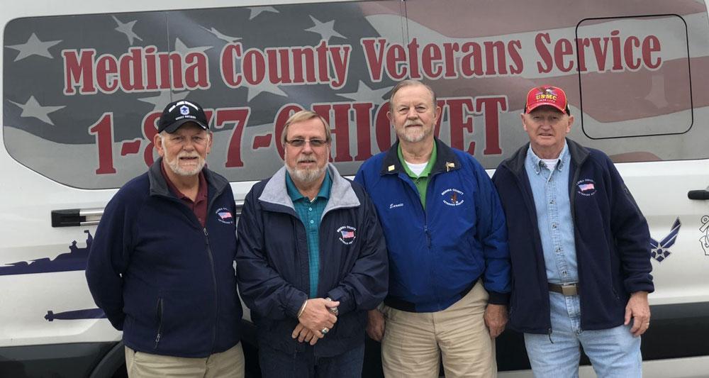 Medina County Veterans Service Office, Drivers